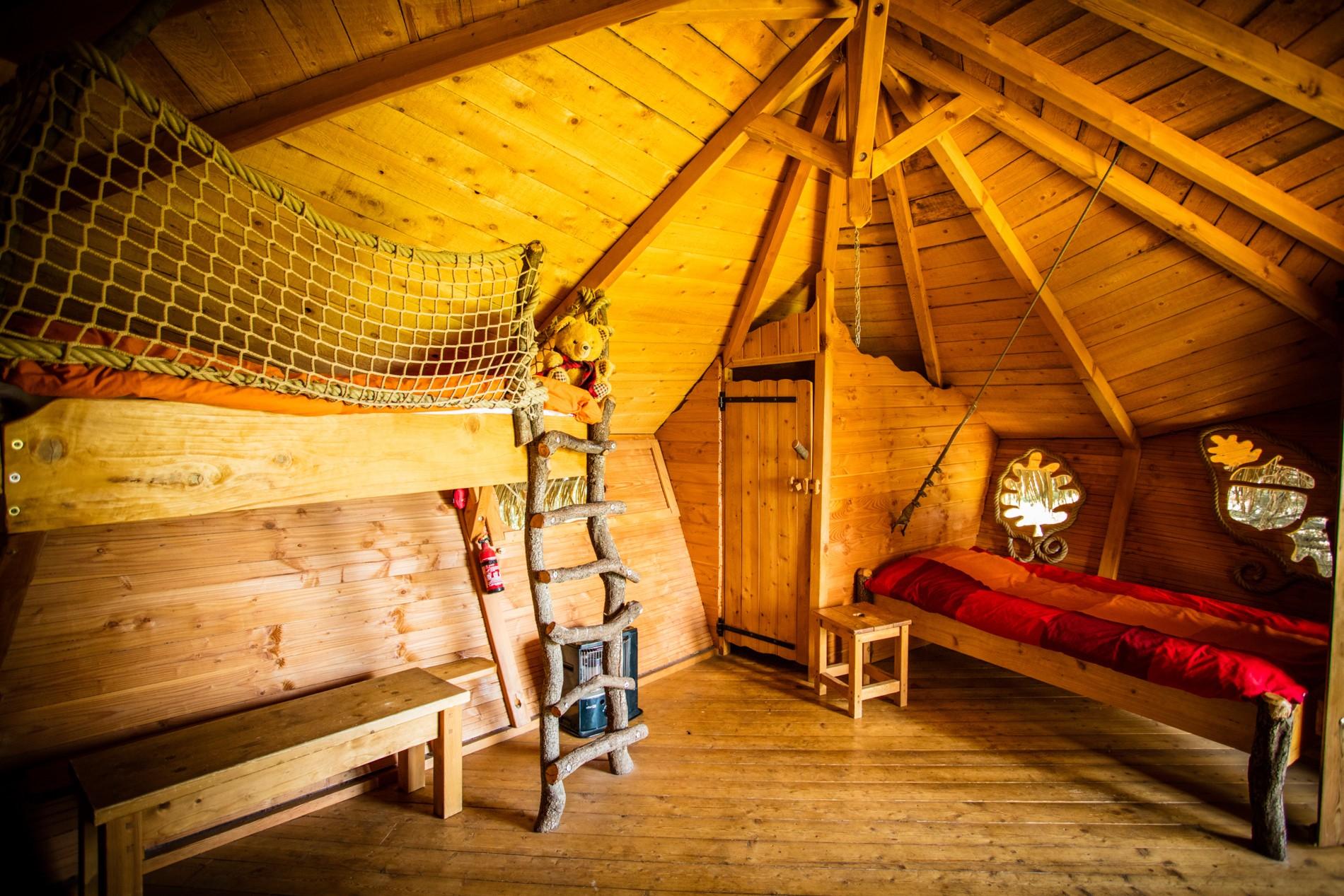 Photo 33 intérieur - cabane dans les arbres - hébergement insolite à Montpellier - Oenotourisme - Domaine saint Jean de l'Arbousier, Castries, Hérault