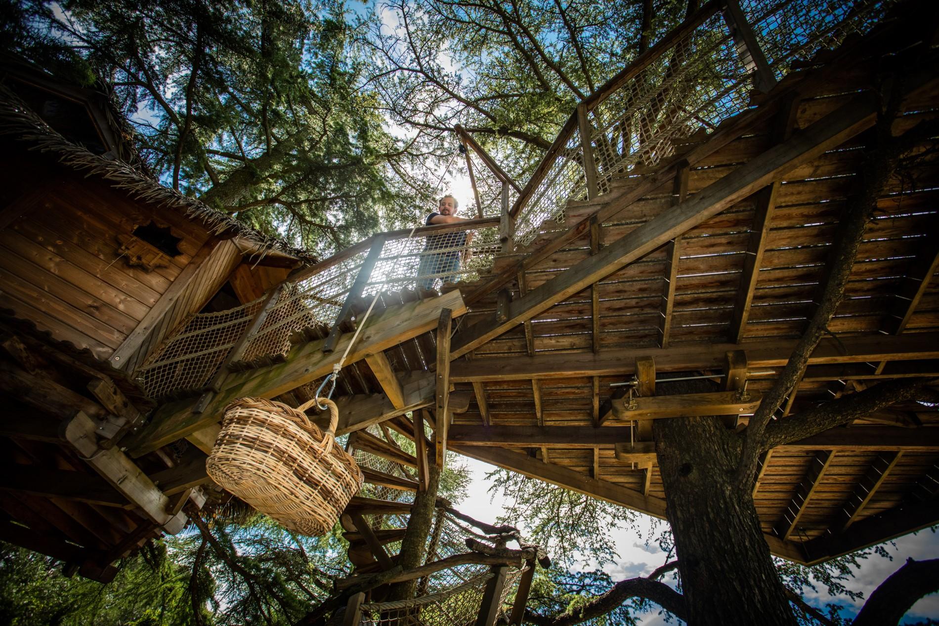 Photo 20 extérieur - cabane dans les arbres - Oenotourisme Montpellier - Famille et nature - Domaine saint Jean de l'Arbousier, Castries, Hérault