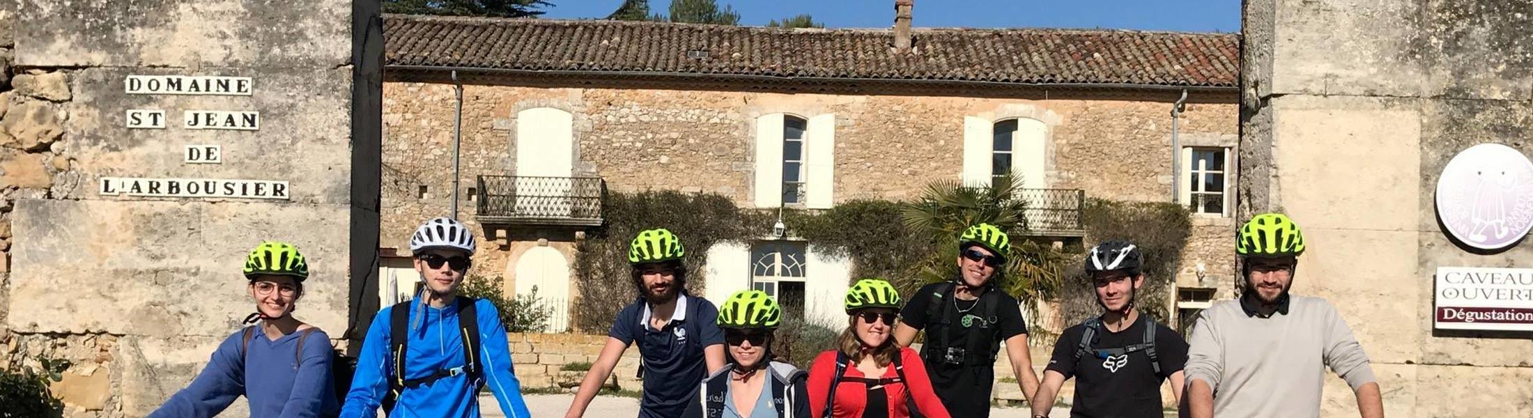 Photo - Oenotourisme - Domaine Saint Jean de l'Arbousier - accueil de groupe - sport